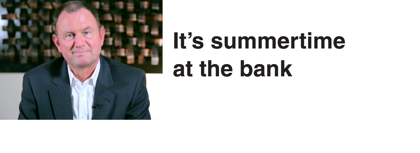 Thoughts on banking, finance and other timely topics from Bob Howard, our President and CEO.